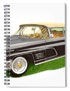 1960 Continental Convertible Spiral Notebook