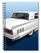 1960 Ford Thunderbird Spiral Notebook