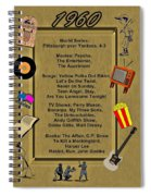 1960 Great Events Spiral Notebook
