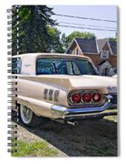 1960 Thunderbird 2 Spiral Notebook