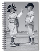 1960s Boy Little Leaguer Pitcher Spiral Notebook
