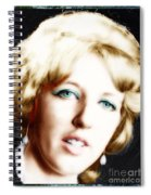 1960's Self Model Pose Spiral Notebook