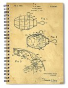 1960s Toy Hand Grenade Spiral Notebook