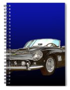 1961 Ferrari 250 G T California Spiral Notebook