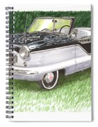 1961 Nash Metro Convertible Spiral Notebook