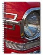 1962 Chevrolet Nova Spiral Notebook