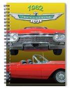 1962 Ford T-bird Sport Spiral Notebook