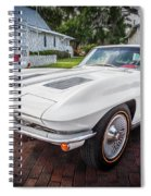 1963 Chevy Corvette Coupe Painted  Spiral Notebook