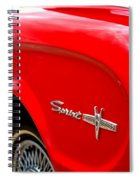 1963 Ford Falcon Sprint Spiral Notebook