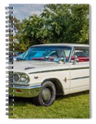 1963 Ford Galaxie 500xl Hardtop Spiral Notebook