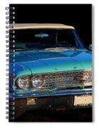 1963 Ford Galaxy Spiral Notebook