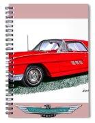1963 Ford Thunderbird Spiral Notebook