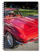 1964 Chevy Corvette Coupe  Spiral Notebook