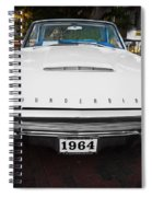 1964 Ford Thunderbird Painted Spiral Notebook