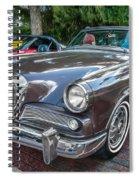 1964 Studebaker Golden Hawk Gt Painted Spiral Notebook