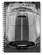 1965 Ford Ac Cobra Replica Painted Bw Spiral Notebook