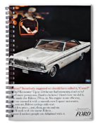 1965 Ford Falcon Ad Spiral Notebook