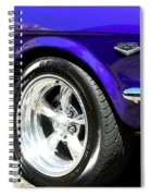 1965 Ford Mustang Gt350 Muscle Car Spiral Notebook