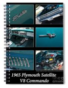 1965 Plymouth Satellite Spiral Notebook