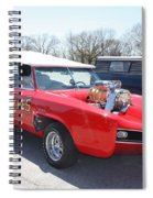 1966 Gto Monkeemobile Spiral Notebook