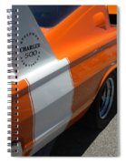 1967 Dodge Charger 02 Spiral Notebook