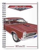 1967 G T O Pontiac Spiral Notebook
