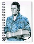 1968 Blue Denim Suit Spiral Notebook