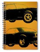 1968 Camaro Ss Side View Spiral Notebook