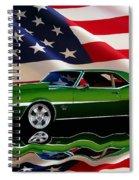 1968 Camaro Tribute Spiral Notebook