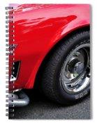 1968 Chevrolet Corvette Stingray Spiral Notebook