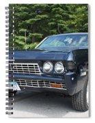 1968 Chevrolet Impala Sedan Spiral Notebook