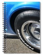 1968 Corvette Sting Ray - Blue - Side - 8923 Spiral Notebook
