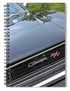 1968 Dodge Charger Spiral Notebook