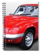 1968 Lotus - Elan S4 -  Full View Spiral Notebook