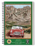 Mountain Rallying In A 1968 M G B  Spiral Notebook