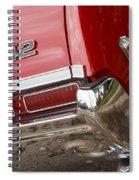 1968 Oldsmobile 442 Spiral Notebook