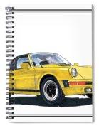 1968 Porsche Targa Spiral Notebook