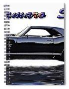 1969 Camaro Ss Spiral Notebook