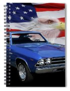 1969 Chevelle Tribute Spiral Notebook
