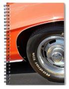 1969 Chevrolet Camaro Rs - Front Quarter Panel - 7552 Spiral Notebook