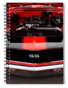 1969 Chevy Camaro Ss Spiral Notebook