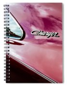 1969 Dodge Charger Spiral Notebook