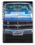 1970 Chevy Chevelle 454 Ss   Spiral Notebook