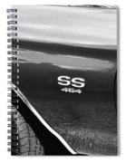 1970 Chevy Chevelle 454 Ss Bw  Spiral Notebook