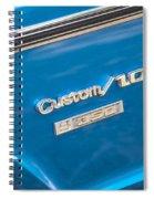 1970 Chevy Custom 350 Truck  Spiral Notebook