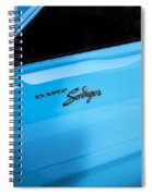 1970 Dodge Dart Swinger 340 Spiral Notebook