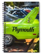 1970 Plymouth Road Runner Hemi Super Bird  Spiral Notebook