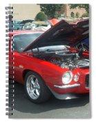 1971 Chevrolet Camaro Spiral Notebook