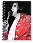 1972 Red Pinwheel Suit Spiral Notebook