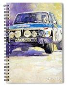 1973 Rallye Of Portugal Bmw 2002 Warmbold Davenport Spiral Notebook